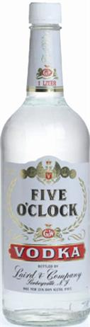 Lairds Vodka Five O'Clock 80@